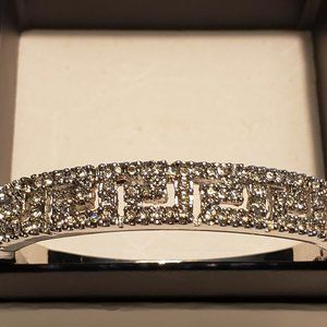 Jewelry - Greek Key Cubic Zirconia fashion bracelet 7 1/2 in